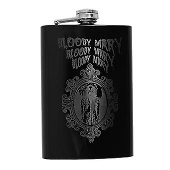 8oz black bloody mary flask l1