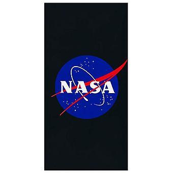 NASA logo plážový uterák