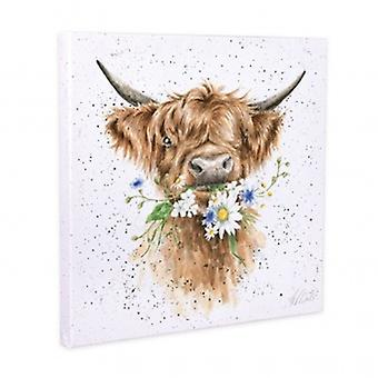Wrendale Designs Daisy Cow Canvas | Gifts From Handpicked