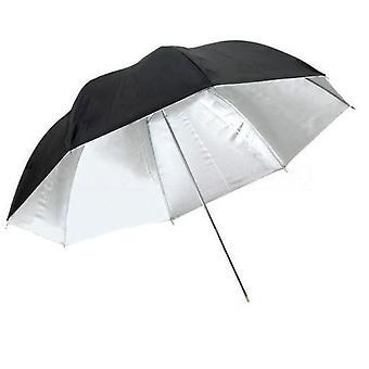 BRESSER SM-11 Ombrello riflettente bianco/nero 83cm