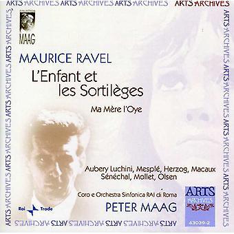 M. Ravel - Maurice Ravel: L'Enfant Et Les Sortil Ges, Ma M Re L'Oye [CD] USA import