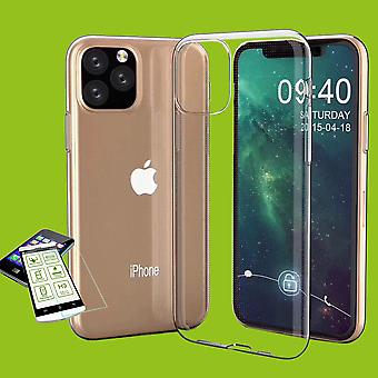 Silicone Case Transparent + 0.3 H9 Tempered Glass for Apple iPhone 11 Pro MAX 6.5 Inch Case Case New