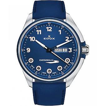 Edox Men's Watch 84301 3BUCBU BUBEB