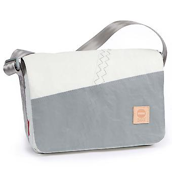 360deg Bowl mini schoudertas grijs/wit canvas tas