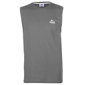 Lonsdale Mens camiseta t-shirt camiseta top sem mangas