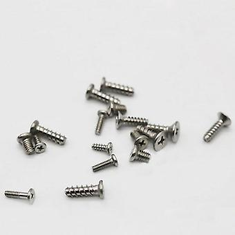 Compatible replacement screw set for nintendo wii console housing