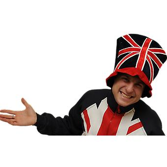 J102 Union Jack top hat fancy kjole sjov
