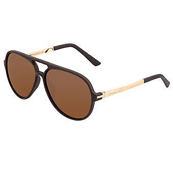 Simplificar Las gafas de sol polarizadas Spencer - Marrón/Marrón
