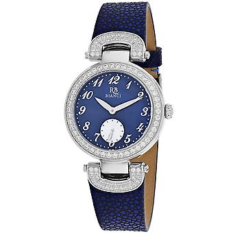 Roberto Bianci Femmes apos;s Alessandra Blue mère de perle Dial Watch - RB0615