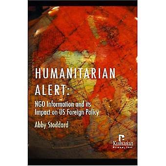 Humanitária alerta: ONG informação e seu impacto na política externa dos EUA