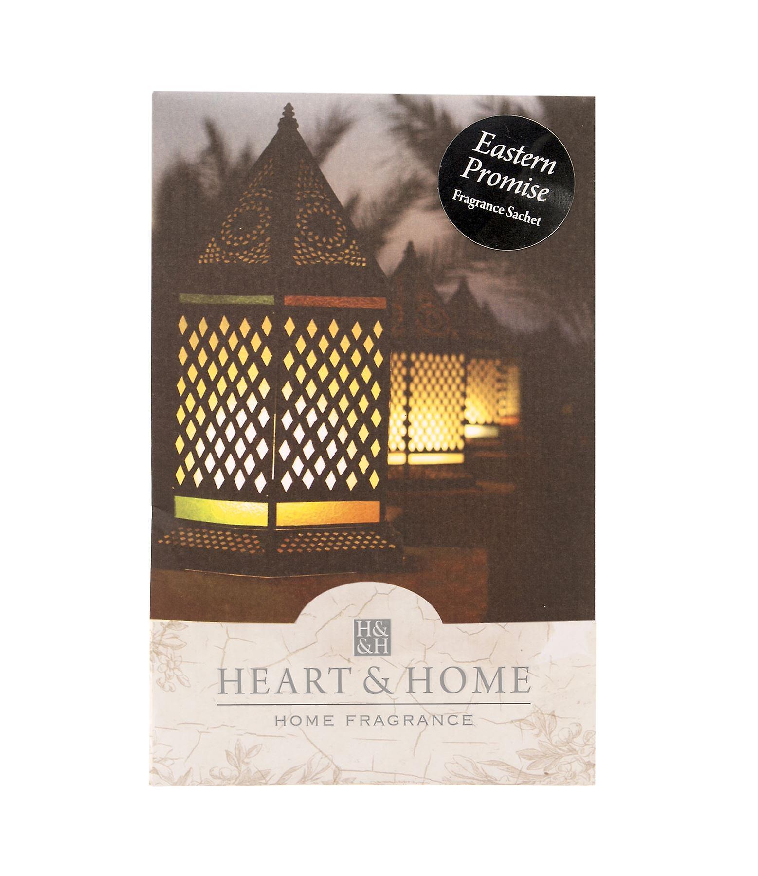 Heart & Home Large Sachet 100ml - Eastern Promise