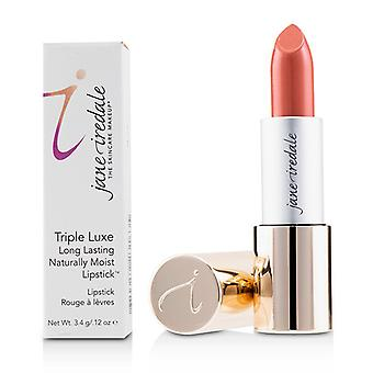 Jane Iredale Triple Luxe Long Lasting Naturally Moist Lipstick - # Jackie (peachy Pink) - 3.4g/0.12oz