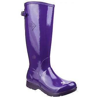 Muck Boots Bergen Tall Ladies Rubber Wellington Boots Purple