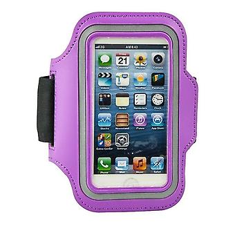 iPhone 5/5S/5C/SE Sportbands-violetti