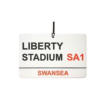 Swansea / Liberty Stadium Street registrera bilen luftfräschare