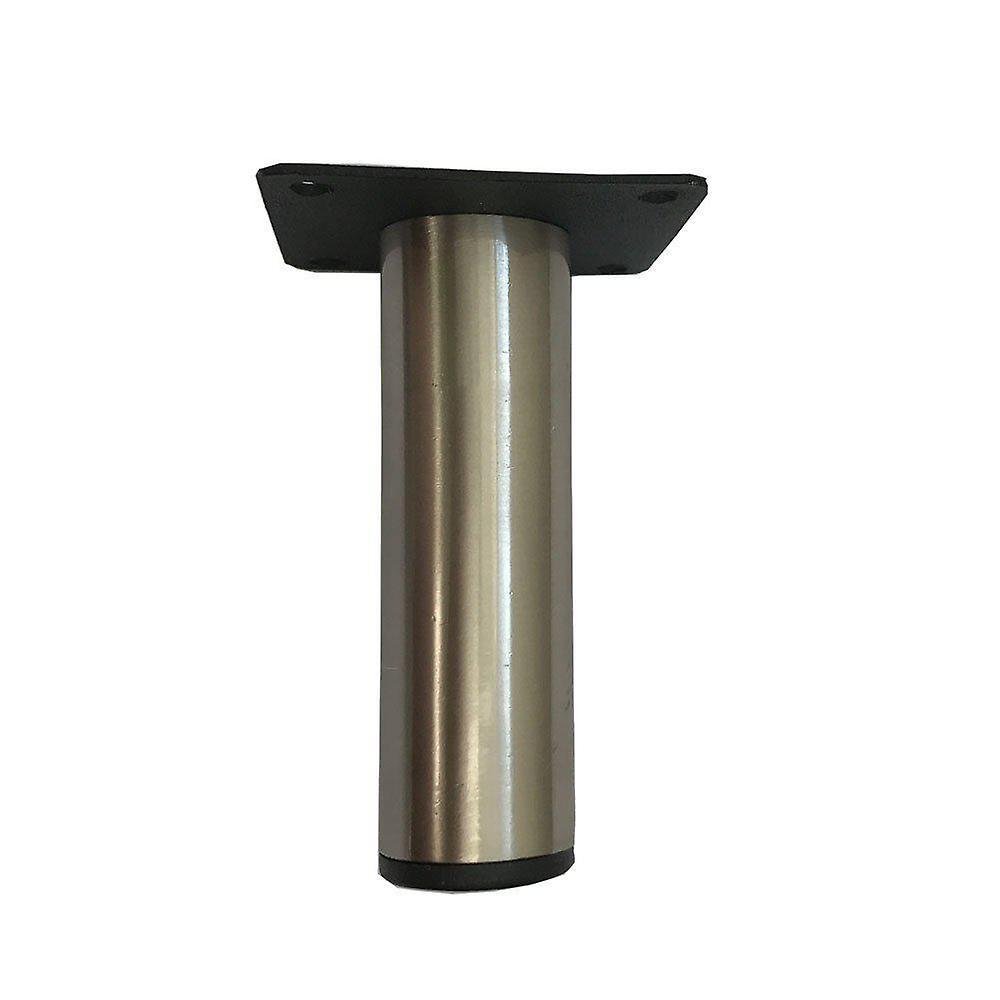 Jambe de meubles ronds en acier inoxydable 10 cm