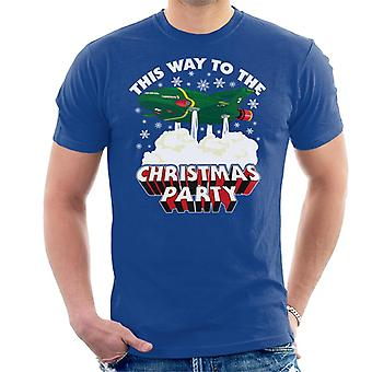 Thunderbirds 2 This Way To The Christmas Party Men's T-Shirt