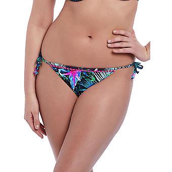 Jungle Flower Rio Tie Side Bikini Briefs