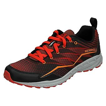 Mens Merrell Casual Lace Up Trainers Trail Crusher