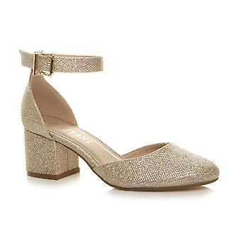 Ajvani mulheres salto alto salto diamante strappy cortiça sandálias de cortiça