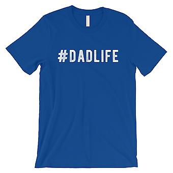 Hashtag Dad Life Mens Royal Blue Dependable Special Shirt For Dad
