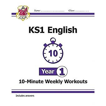 New KS1 English 10Minute Weekly Workouts  Year 1