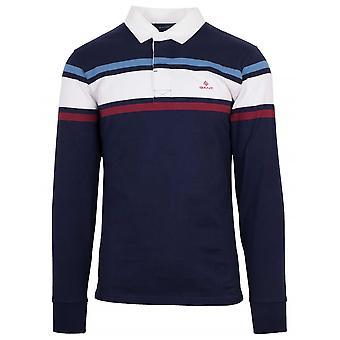 GANT GANT camisa de polo rugger azul marino
