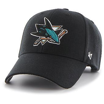 47 Brand Relaxed Fit Cap - NHL San Jose Sharks noir