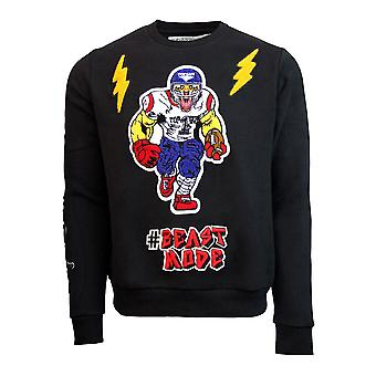 Top Gun Beast Mode Crewneck Sweatshirt Black