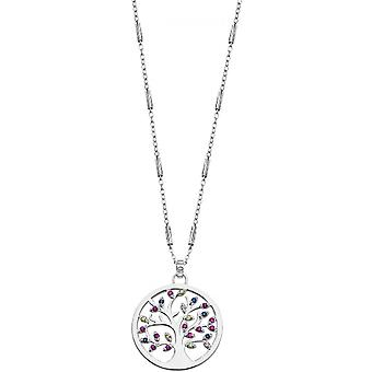 Necklace and pendant Lotus Silver TREE OF LIFE LP1890-1-1 - necklace and pendant TREE OF LIFE money woman