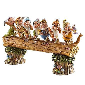 Disney Traditions Homeward Bound (seven Dwarfs On Log) Diarama