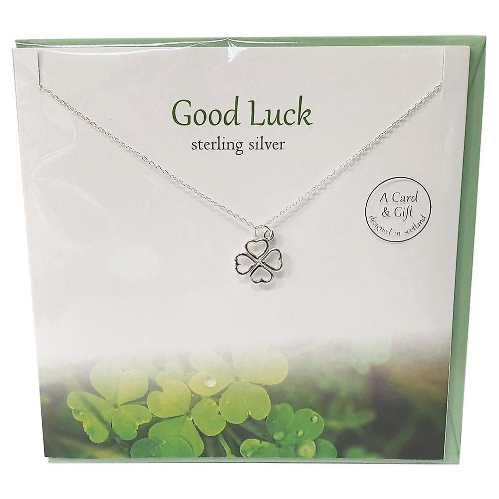 The Silver Studio Good Luck Pendant