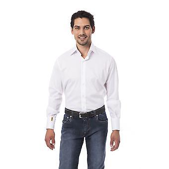 Miesten valkoinen miljardööri Pitkähihaiset paidat