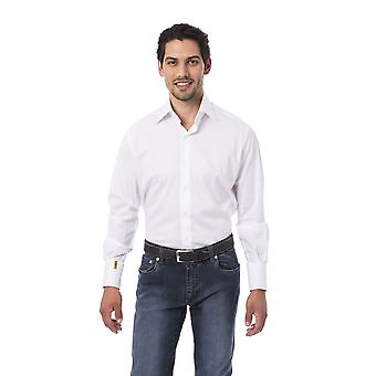 Men's White Billionaire Long Sleeve Shirts