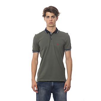 Polo short sleeves Military Green Bagutta man