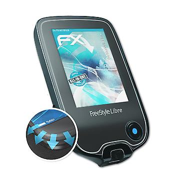 atFoliX 2x Protective Film compatible with FreeStyle Libre Screen Protector clear&flexible