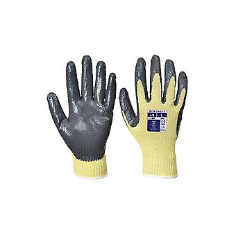 Portwest cut workwear 3 nitrile grip gloves a600