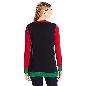 Ugly Christmas Sweater Company Women's Assorted Xmas Cardigan Sweaters, Black...