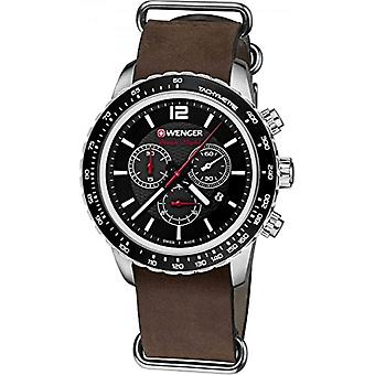 Unisex 01.0853.106 BLACK NIGHT Wenger ROADSTER CHRONO