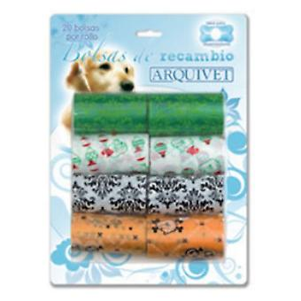 Arquivet Replacement Bags 20 Bags / Roll