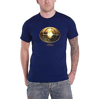 Doctor Strange T Shirt Dr Strange Amulet new Official Marvel Comics Mens Blue