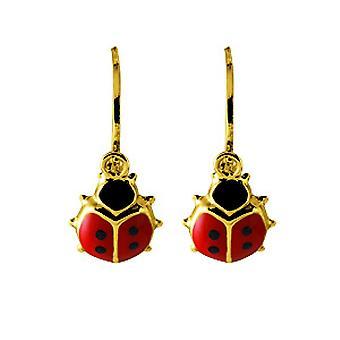 Gold 750/1000 gelbe Ohrringe (18K)