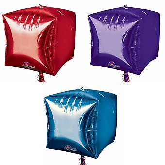 Anagramm Supershape Cubez Folie Ballon