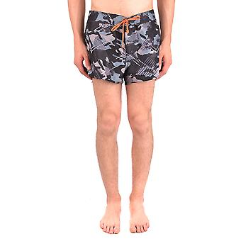 Emporio Armani Ezbc113018 Men's Multicolor Polyester Trunks
