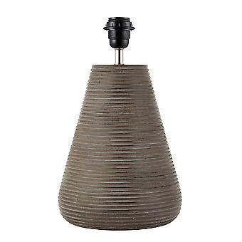 Endon Mahalla 1 Lekki stół Light Antique Grey Wash Wood (tylko podstawa) 90573