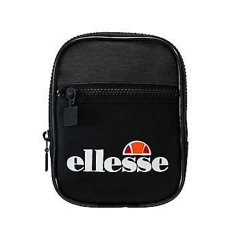 Ellesse Heritage Templeton Small Items Cross Body Shoulder Man Bag - Black