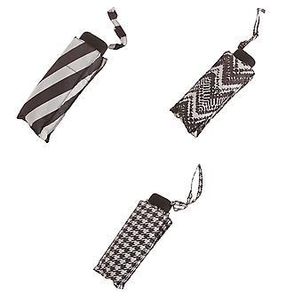 X-brella Womens/Ladies Monochrome Compact Umbrella