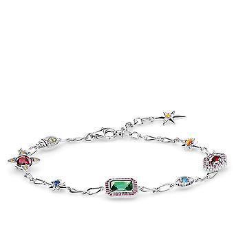 Thomas Sabo Sterling Silver Thomas Sabo Silver Lucky Charms Bracelet A1914-348-7-L19v