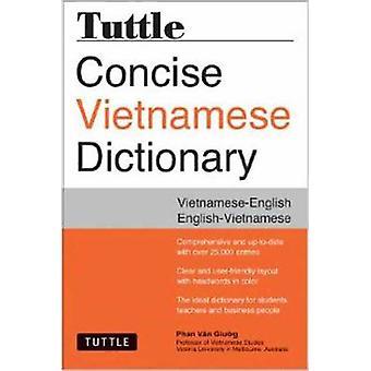 Dizionario conciso vietnamita di Tuttle - vietnamita-inglese inglese-Viet