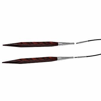 KnitPro Sześcienne: Dziewiarskie szpilki: okrągłe: wymienne: 6,50 mm